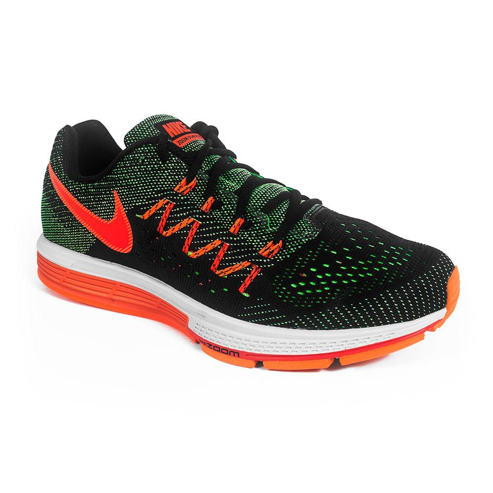 Tenis Running Nike Air Zoom Vomero 10 Cor: PTO / VDE / LAR - 308 - Tam: 40