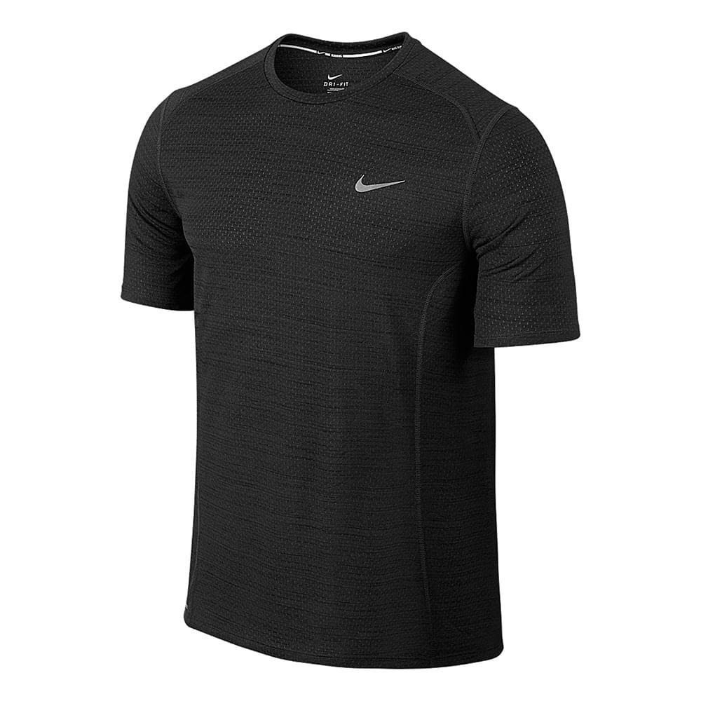 Camiseta Nike Dri - Fit Cool Miler Ss Cor: PTO - Tam: P