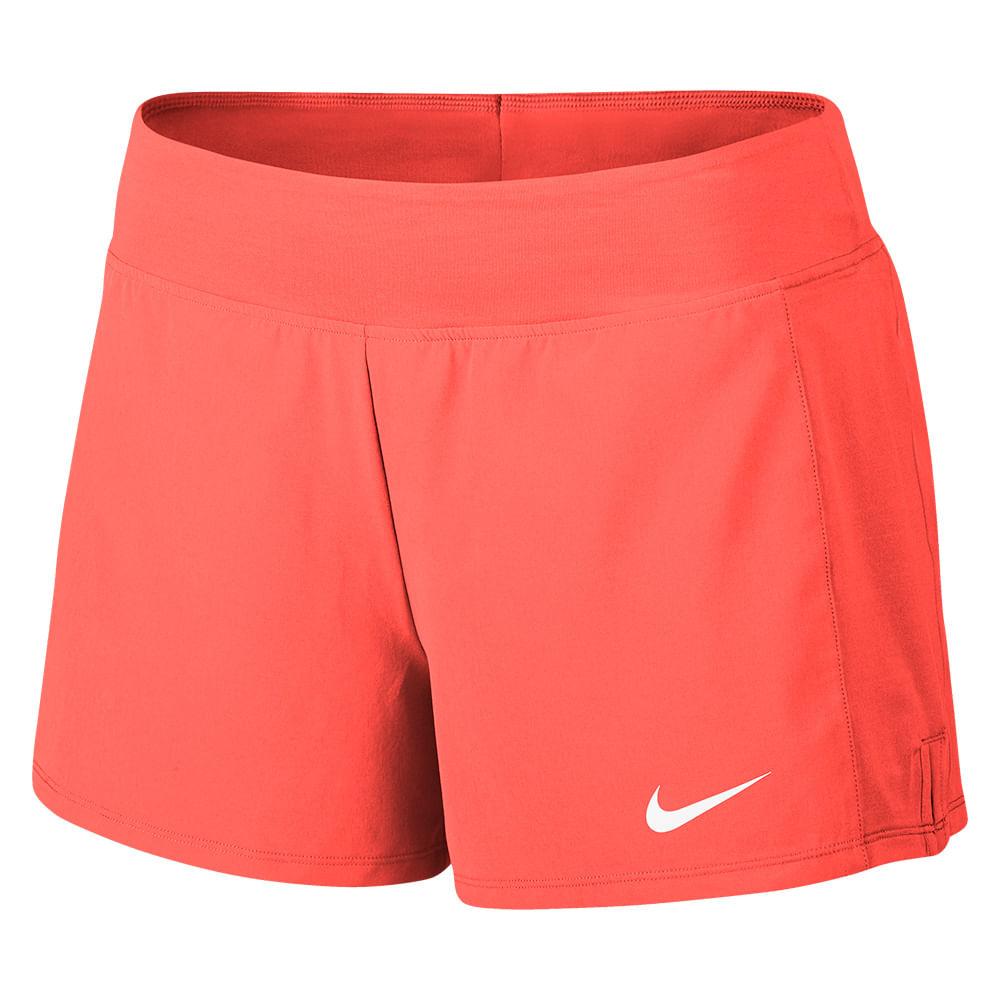 Short Tênis Nike Court Flex Pure Feminino Cor: LAR - Tam: G