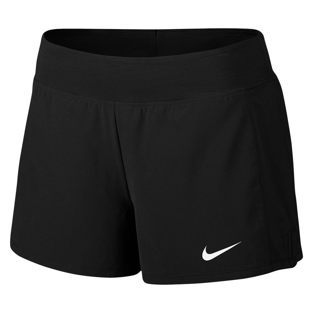 Short Tênis Nike Court Flex Pure Feminino Cor: PTO - Tam: M