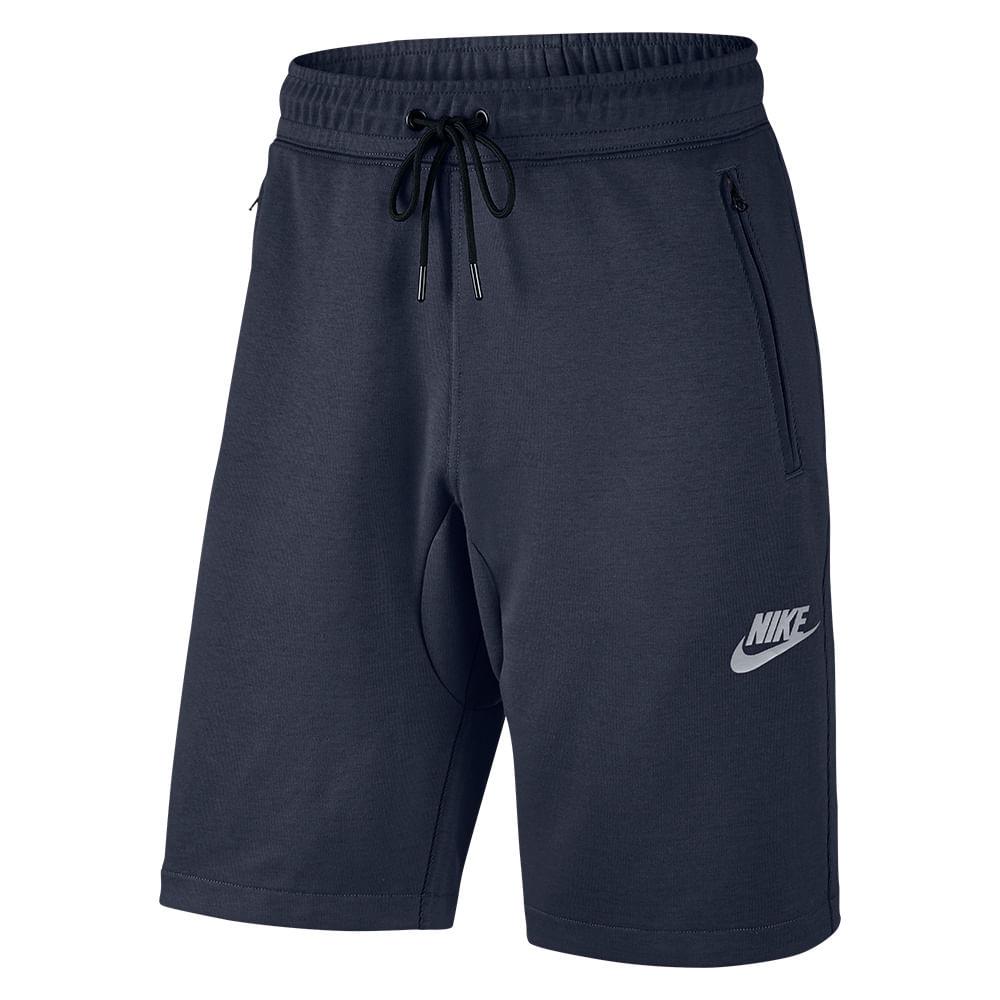Bermuda Casual Nike Sportswear Advance 15 Flc Cor: MAR - Tam: M