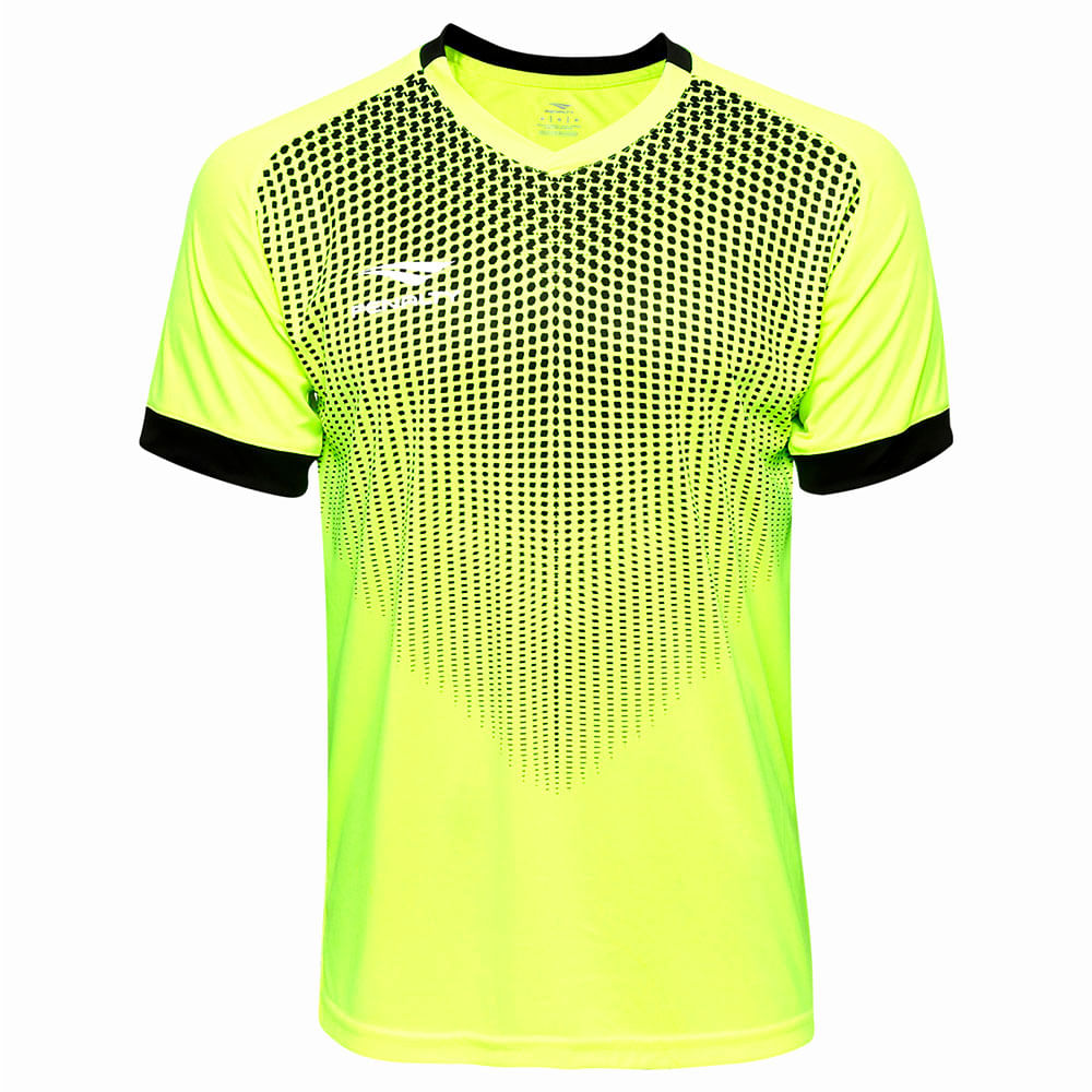 Camiseta Futebol Goleiro Penalty Manga Curta Delta Vi Cor: AMA / PTO - Tam: GG