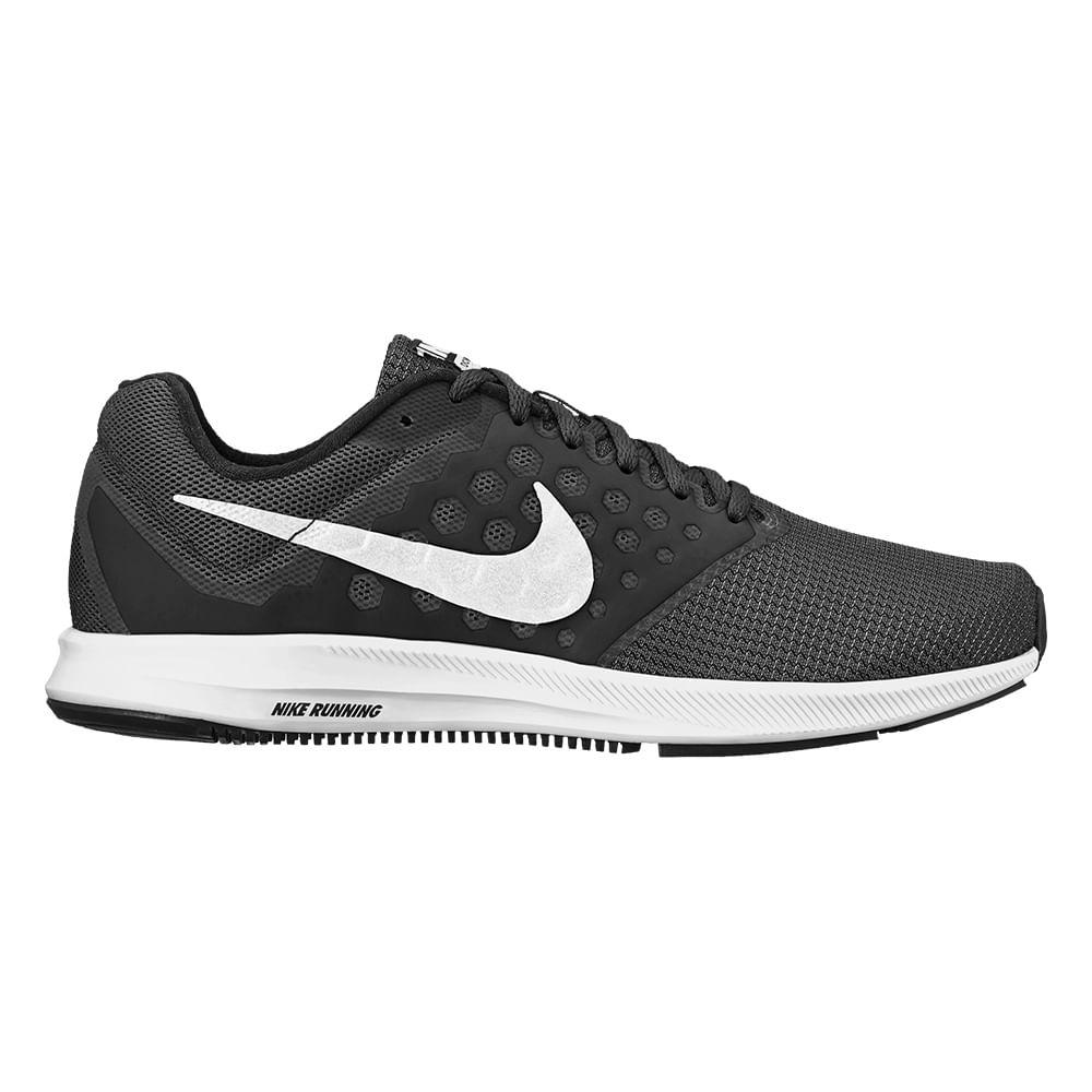 Tênis Running Nike Downshifter 7 Cor: PTO / BCO - 002 - Tam: 40