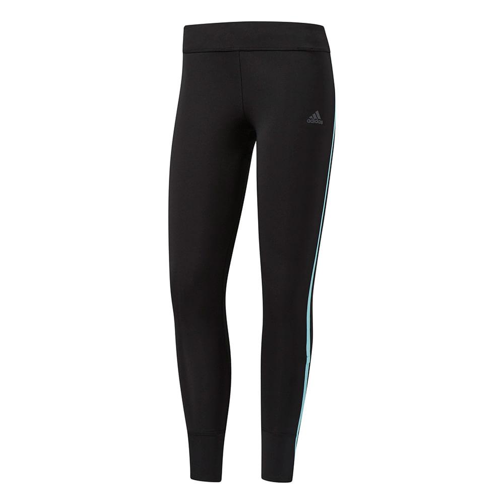 Calça Running Adidas Legging Response Feminina Cor: PTO / CEL - Tam: P