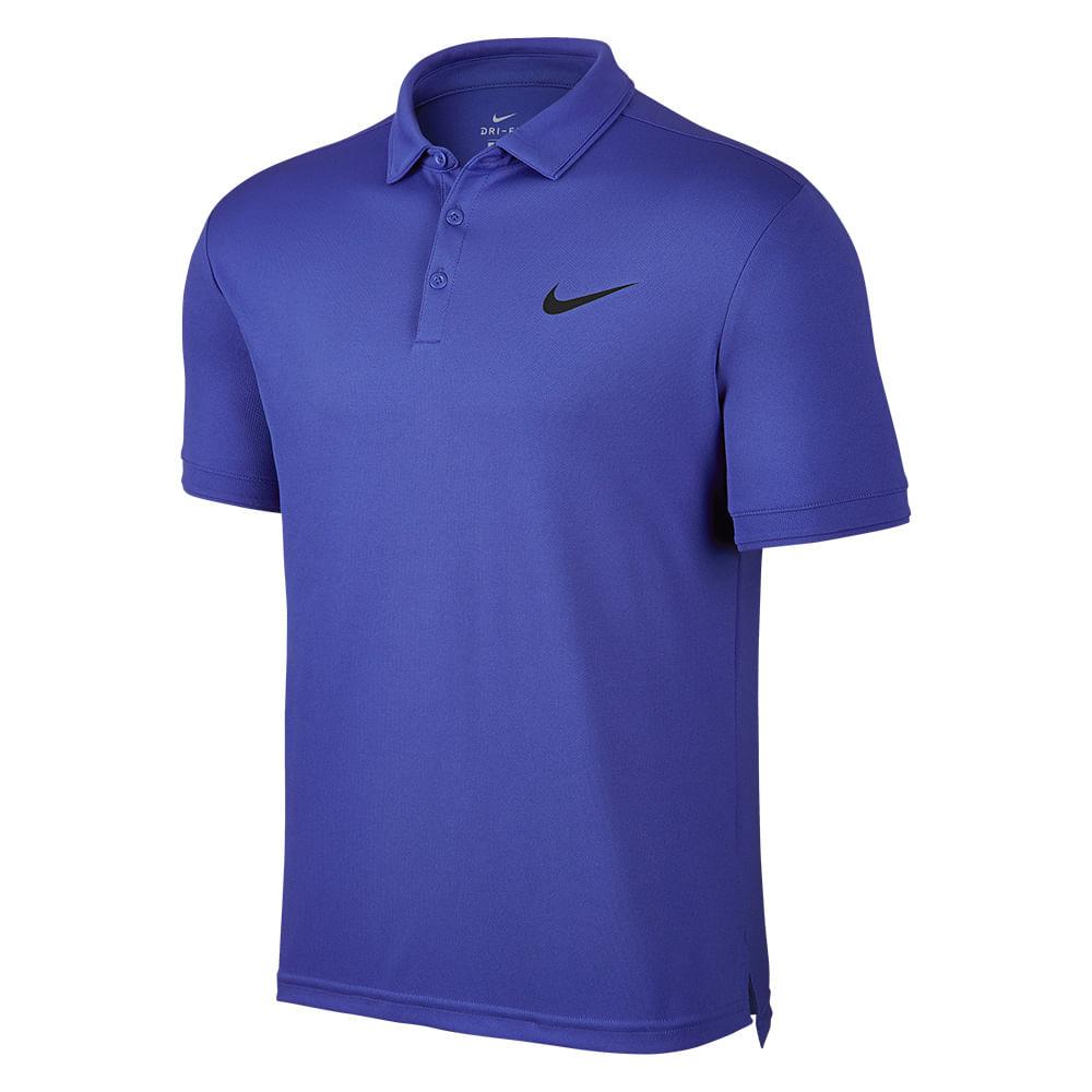 Camiseta Polo Tênis Nike Court Dry Team Cor: ROY - Tam: G