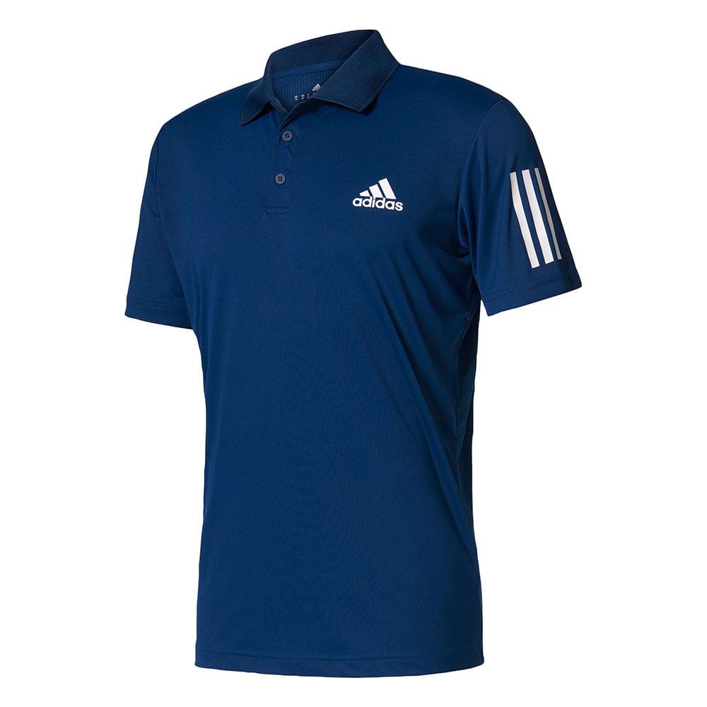 Camiseta Pólo Casual Adidas Club Cor: MAR - Tam: G