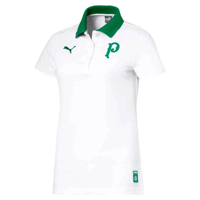a3ac62e22e Camiseta Polo Palmeiras Puma Feminina 2019