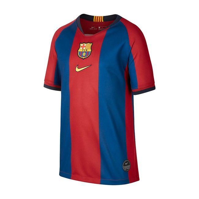 8892783224 Camiseta Futebol Nike Barcelona Fcb 98/99 Infantil