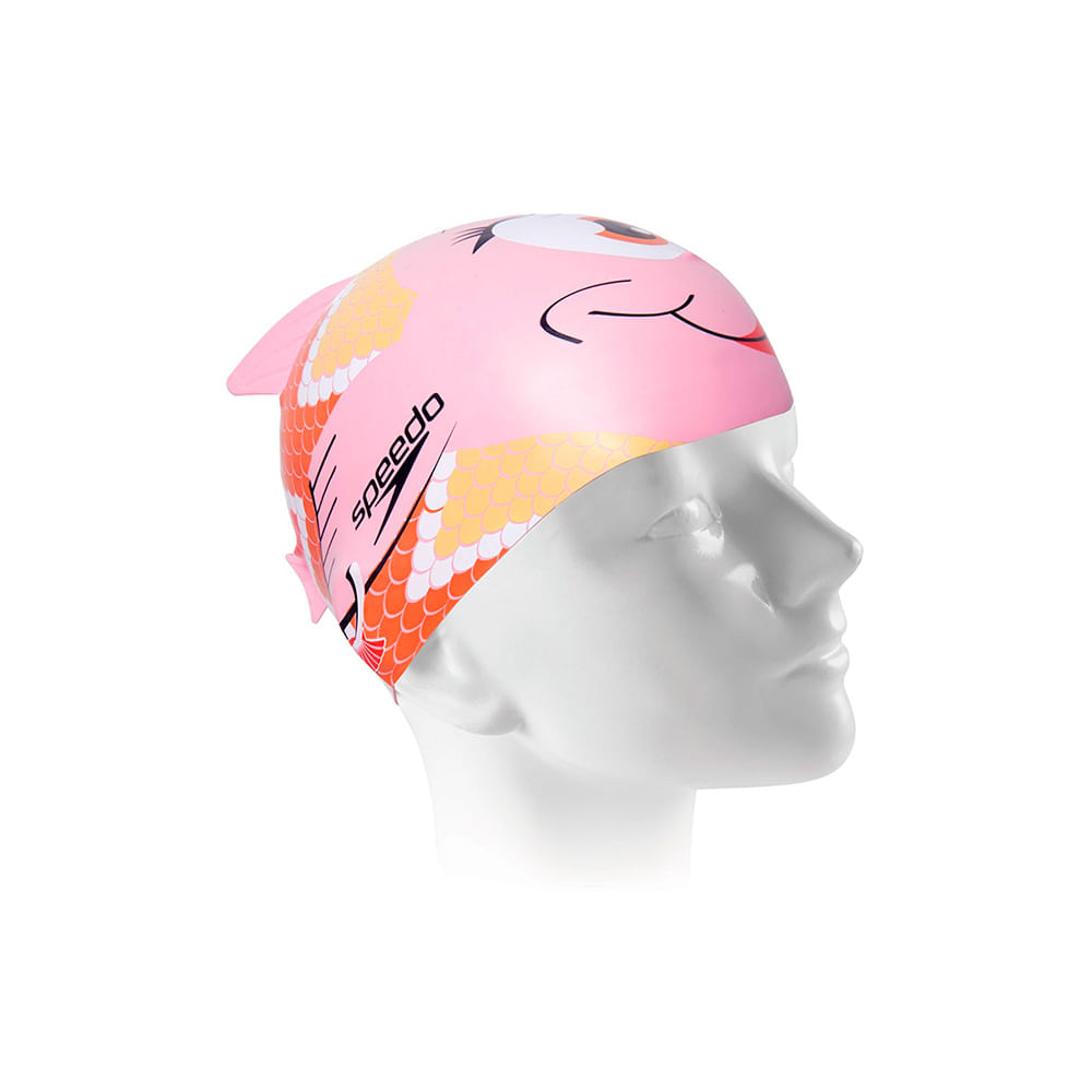 touca de natação speedo fish cap infantil - rosa - un 2bde8c0cb6d