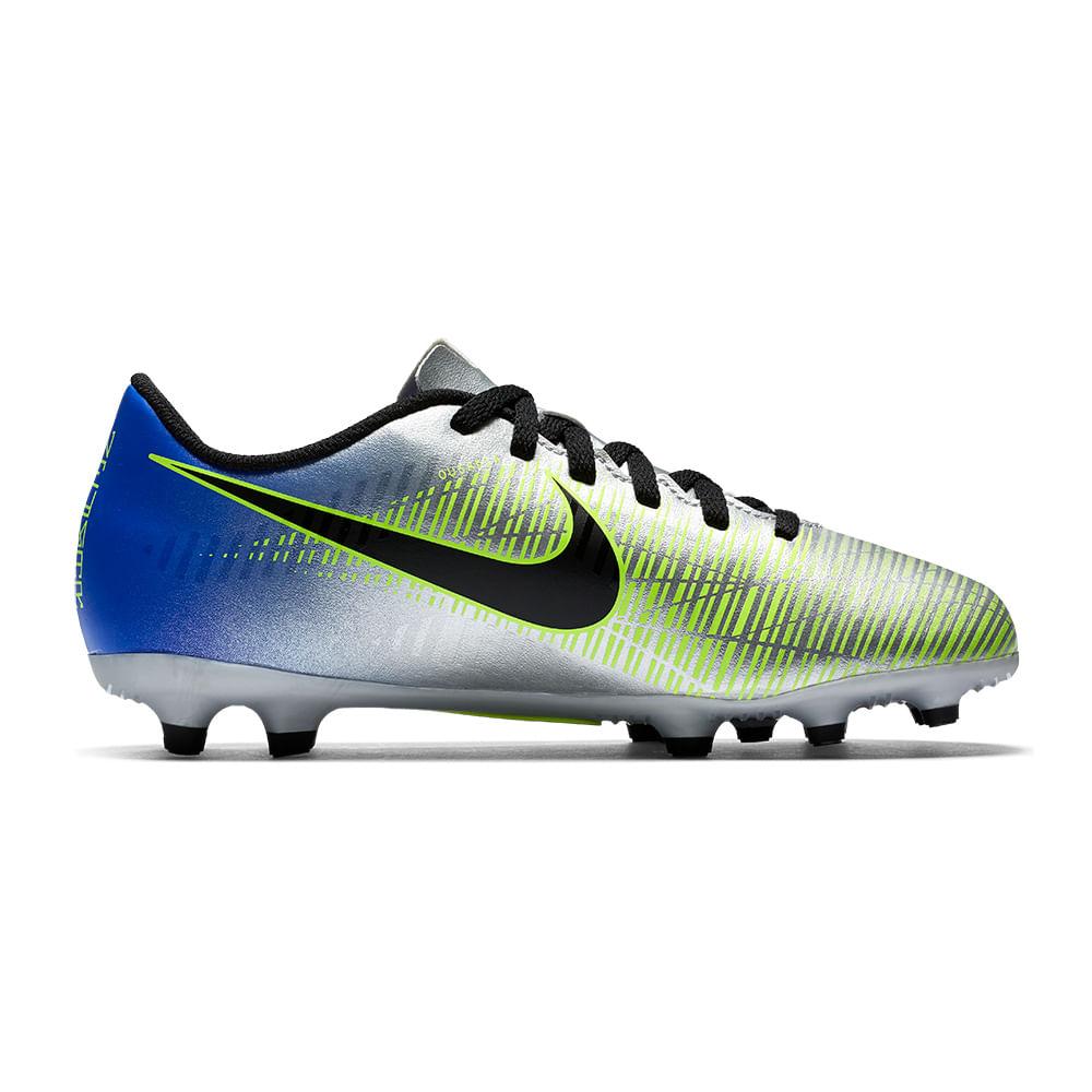 a67ad2678d Chuteira Futebol De Campo Nike Neymar Jr Mercurial Vortex Iii Infantil - A  Esportiva