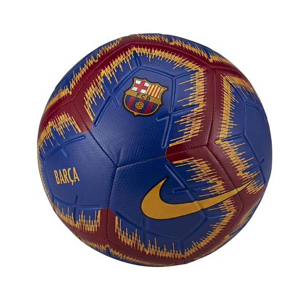 Bola Futebol De Campo Nike Barcelona Fcb Strike 309da475e23c3