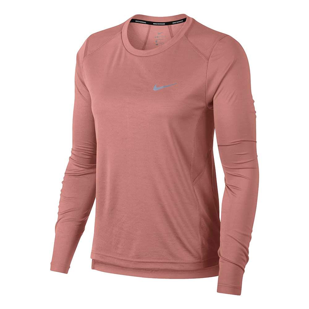 5af88cea12 Camiseta Manga Longa Nike Miler Ls Feminina - A Esportiva