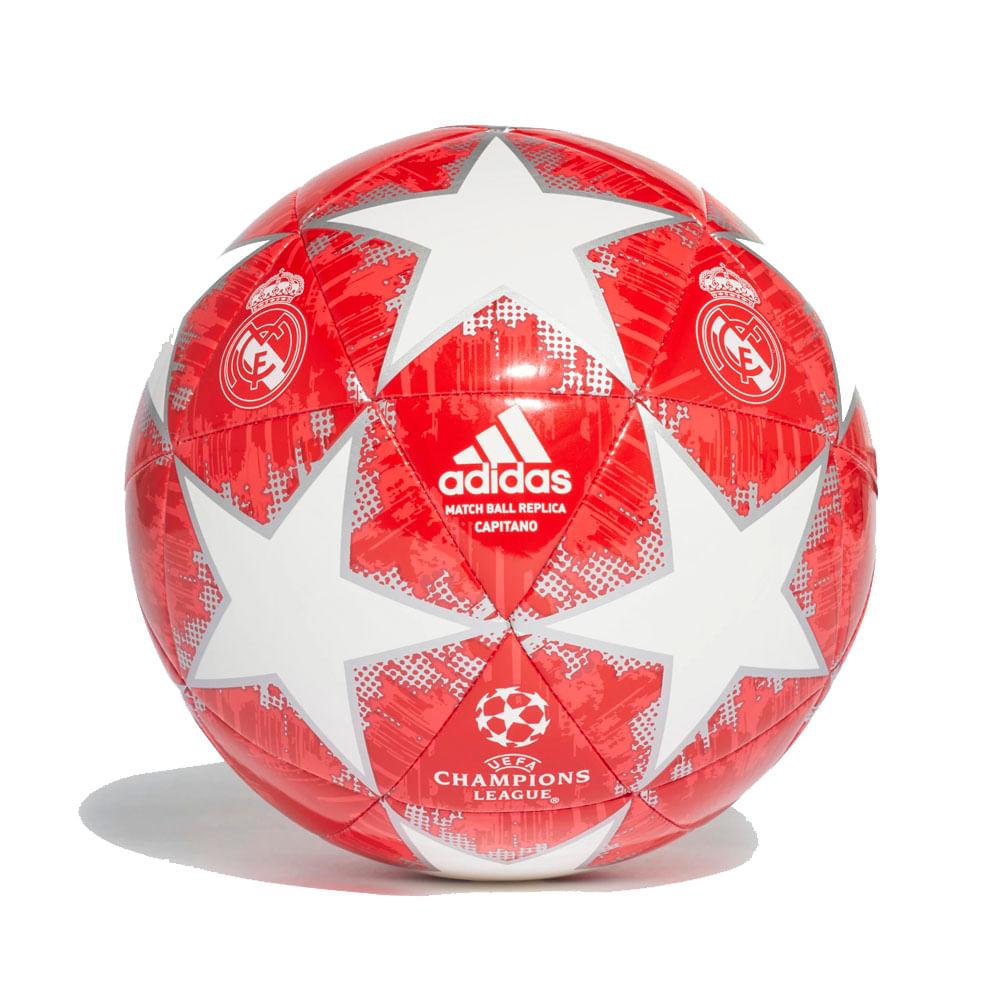 Bola Futebol Campo Adidas Finale 18 Real Madrid Capitano 93723b7a87227