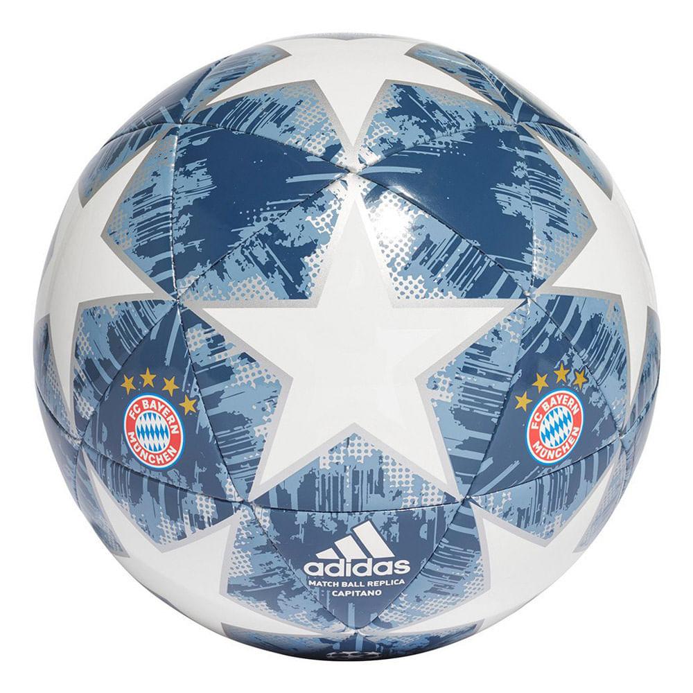 Bola Futebol De Campo Adidas Bayern Capitano Finale b7a34dfd509a2