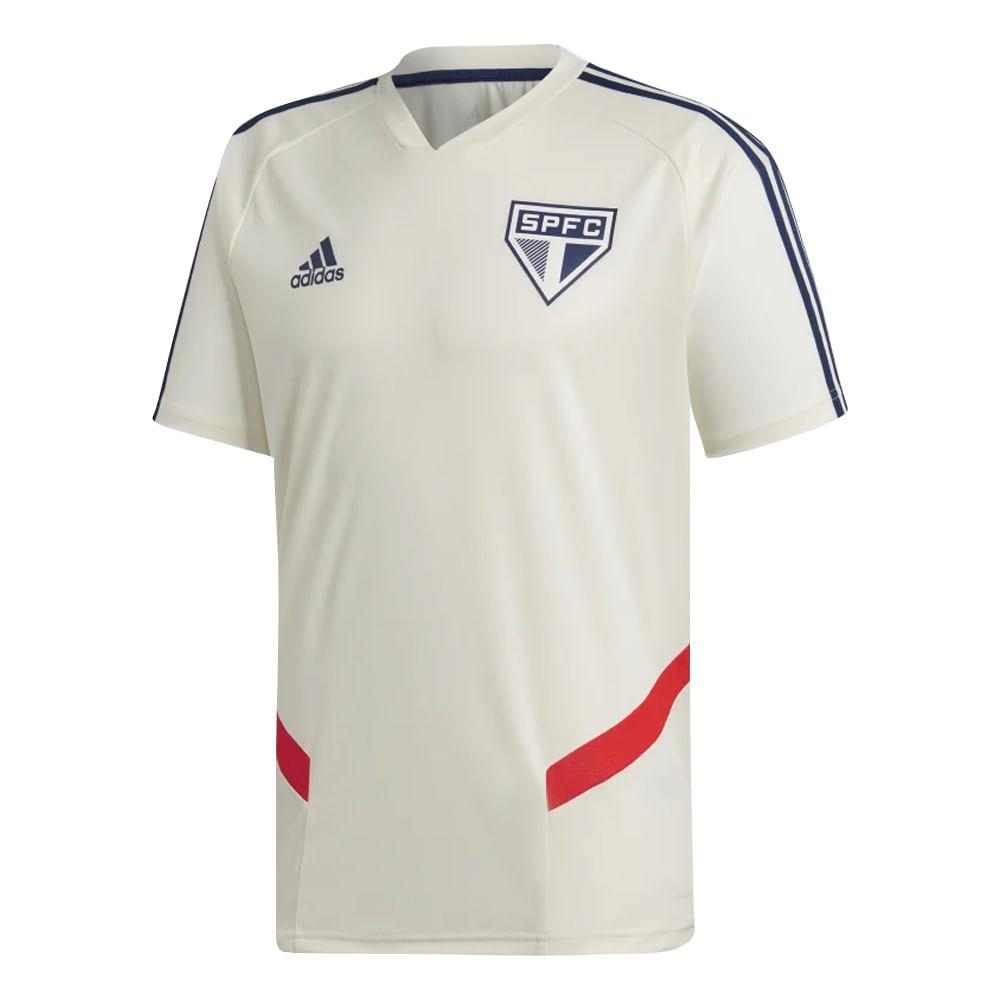 1ee29c3bb1a1 Camiseta Futebol Adidas São Paulo Spfc Treino 2019 - A Esportiva