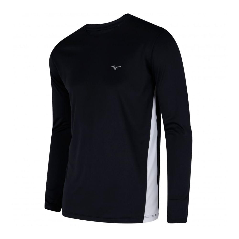 4ca71535f0 Camiseta Mizuno Ml Wave Run 2 - A Esportiva